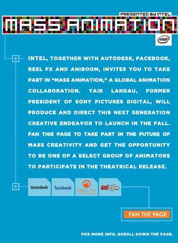 Intel Mass Animation Collaboration