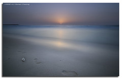 Maghrib -  (DanielKHC) Tags: sunset sea seascape beach digital landscape interestingness high sand nikon long exposure dubai dynamic united uae shell emirates explore arab minimalism residence ramadan range dri increase hdr jumeirah blending d300 dynamicrangeincrease nd400 maghrib interestingness38 4exp danielcheong bratanesque danielkhc tokina1116mmf28 explore03sep08 gettyimagesmeandafrica1