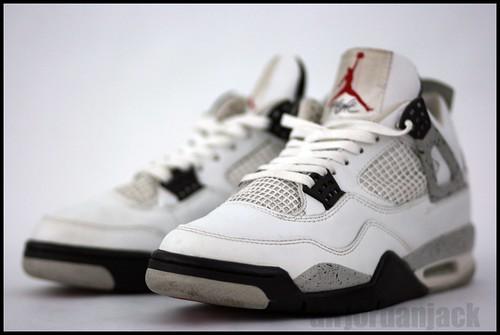 AJJ white cement Jordan IVs