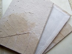 book cover handmade paper