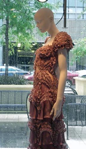 Gown, Mannequin, Rain
