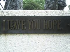 I Leave You Hope