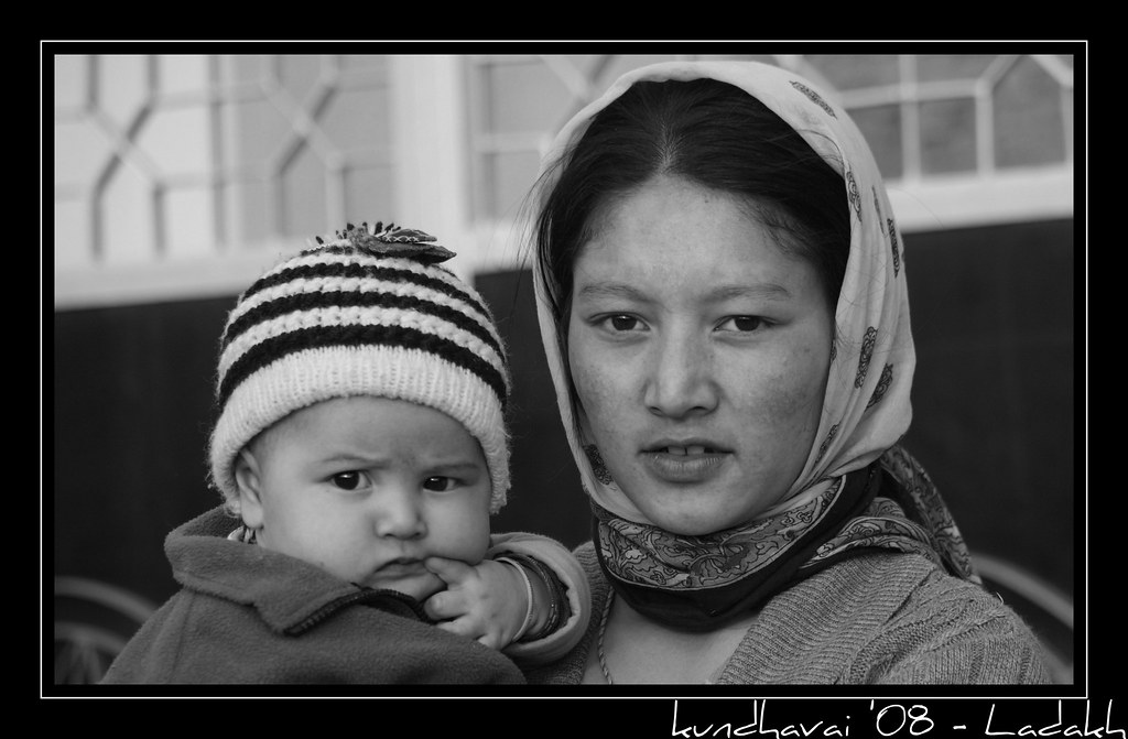 Girl @ Leh Road