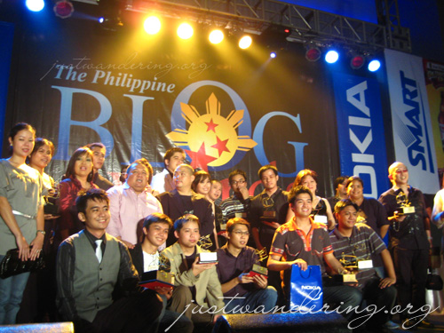 Philippine Blog Awards Winners