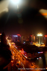 IMG_7785 (Sam's Exotic Travels) Tags: skyline night lights capital prc chinas sams shijiazhuang travelphotos samsays hebeiprovince samsexotictravelphotos exotictravelphotos samsayscom jebeo northchinaplain