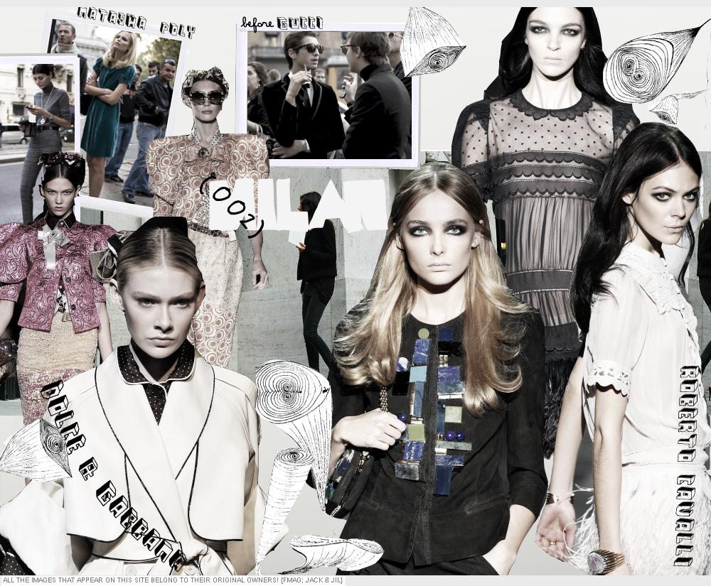 Cavalli, Dolce & Gabbana SS 09