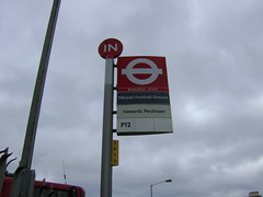 DSC00331 (paddy75) Tags: london bushalte engeland londen groundhopping millwallfc ildertonroad verenigdkoninkrijk