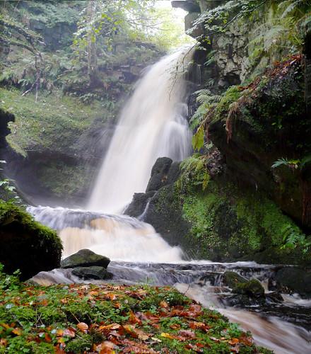 Fairlie Upper waterfall