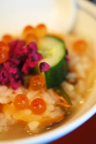 Sake Ikura Zousui (salmon and salmon roe porridge) - DSC_1115