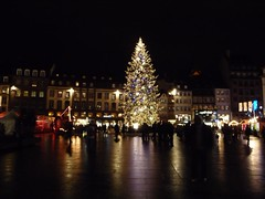Christmas tree at Kleber's Place, place kleber, noel, strasbourg