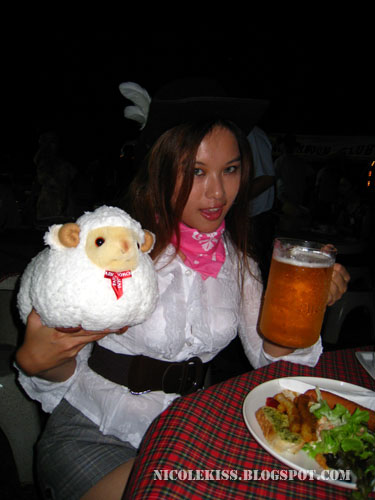 beer and lamb