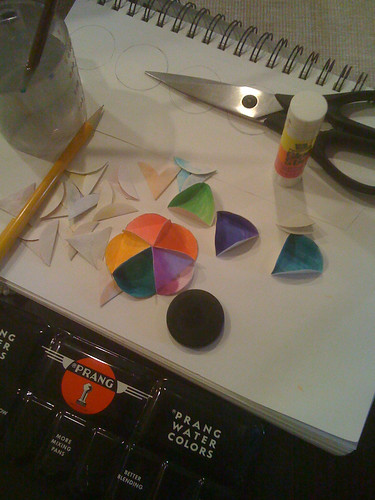 Making an Icosohedron ornament, Part 1