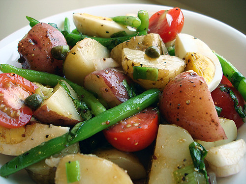 Provencal Potato Salad | Tastefully Done