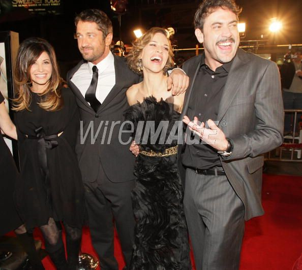 Jeffrey Dean Morgan, Hilary Swank, Gerard Butler, Gina Gershon at PS I Love You Premiere by The School of Jeffrey Dean Morgan