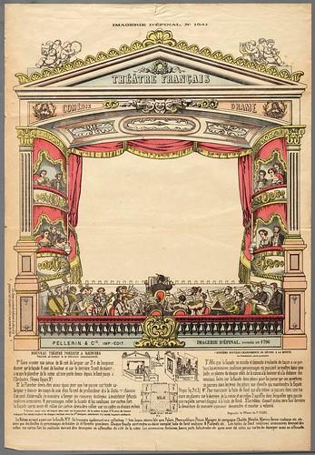 017- Proscenio de teatro en papel con las instrucciones de montaje