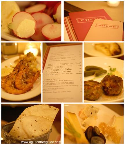 Prune Restaurant NYC Gluten-Free