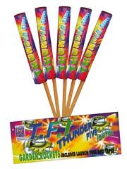 EPIC FIREWORKS - Thunder five ignition 5 rocket firework pack (EpicFireworks) Tags: display fireworks rockets pyro epic pyrotechnics romancandle epicfireworks