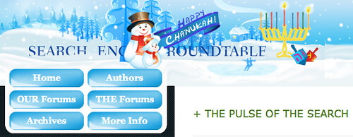 Search Engine Roundtable Chanukah 1