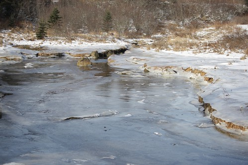 The Cove (in ice) - Boutiliers Point, Nova Scotia