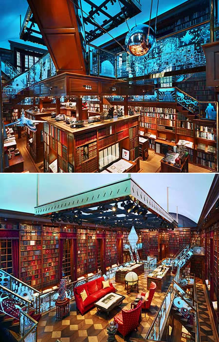Jay Walker's Private Library