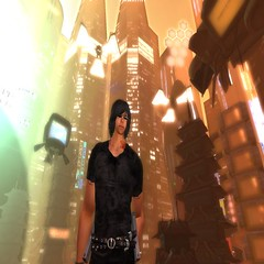 Future asian city (Lestat Riederer) Tags: sl secondlife future gothicatz