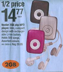 iPod Shuffle knockoff