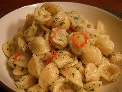 Oricchiette with Cauliflower (consumedithis) Tags: winter food cooking dinner italian pasta homemade easy simple herb hazan