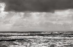 Seascape (artblackandwhite) Tags: ireland blackandwhite bw abstract landscape kerry conceptual platinum limitededition palladium largeformat westcork artprint contactprint digitalnegative altprocess alternativeprocesses paradisi lucaparadisi fineartplatinum