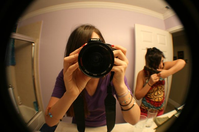 fisheye photo