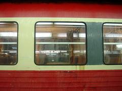 le train vers l'enfer (nicouze) Tags: old red france train rouge lyon vieux destroy sncf pourri