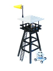 Watch tower (psiaki) Tags: tower lego searchlight windsock moc