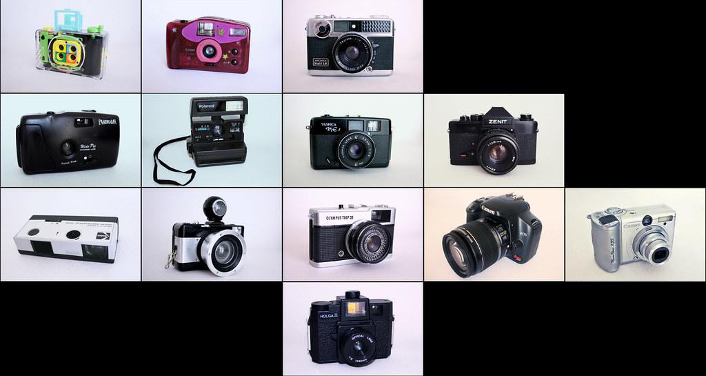 my cameras. atualized. :D