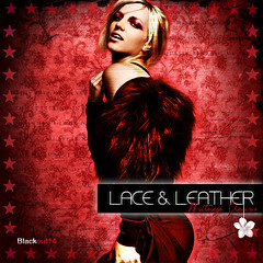 Lace & Leather (Blckout14*) Tags: sexy photoshop spears circus blackout diva britney blend womanizer