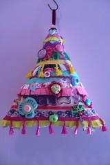 crafting 365 / day 12 my fabric tree (koigirl) Tags: tree fabric stuff ribbon