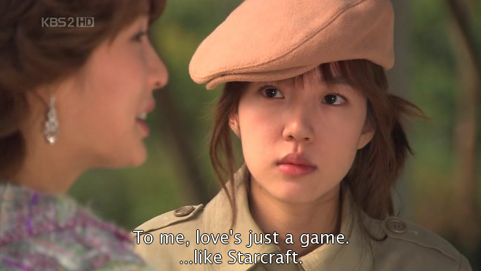 Love and Starcraft