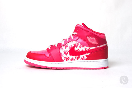 Girls Jordan 1 Premium Valentine's Day