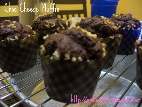 Choc Cheese Muffin