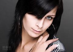 Katja 1.1 (m8bilder) Tags: portrait woman face studio gesicht portrt frau 2008 watermark wasserzeichen wwwm8bilderde