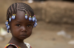 Blue pearls (Laurent.Rappa) Tags: voyage africa travel portrait people face child enfant ritratti ctedivoire peuple afrique laurentrappa