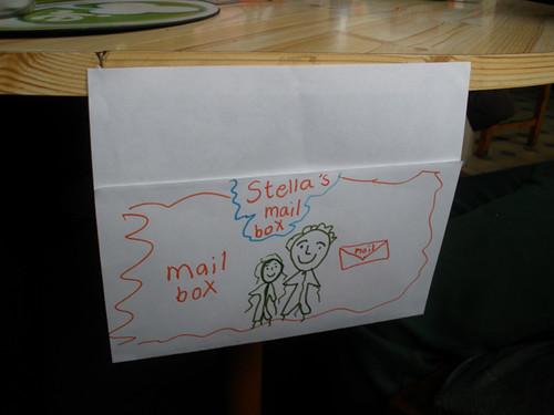 H made me a mailbox =)