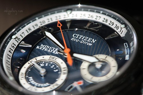 Eco-Drive Perpetual Calender by Citizen.