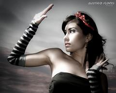 naile -464-Edit (GUSTAVO F. VELARDE) Tags: rayas fashion mexico model glamour models modelo monterrey pelo moo portraitunlimited