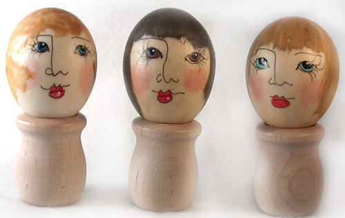 Ornamental Egg Ladies