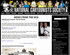 National Cartoonists Society at afnews
