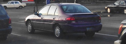 my old purple car