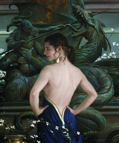 The Museum by Donato Giancola