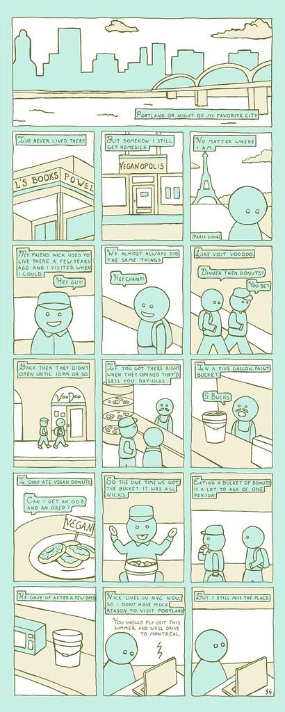 Donuts Comic