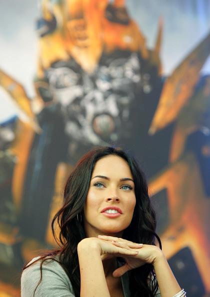 Transformers 2 Megan Fox ojos azules