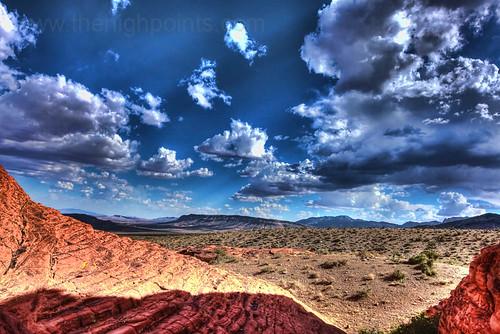 Blue Diamond Nevada Blue Diamond Hill From Little