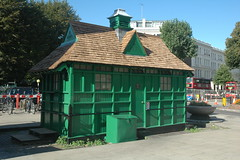 Warwick Avenue Cabmen's Shelter W9 (Jamie Barras) Tags: uk england building london architecture century cafe taxi victorian 19th fund